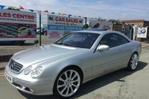 Mercedes CL CL500 COUPE 2DR ** WARRANTED LOW 88,834 MILES **HUGE SPEC **HPI CLEAR **12 MONTH MOT INCLUDED **CLEAN EXAMPLE