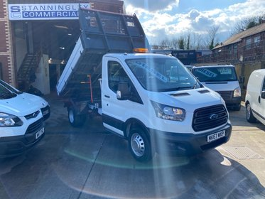 Ford Transit 350 L2 Tipper Euro 6 130ps