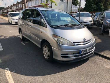 Toyota Previa VVTI GS 8 STR.Part Exchage To Clear