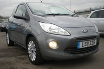 Ford Ka Zetec 1.2, FULL SERVICE HISTORY, BLUETOOTH