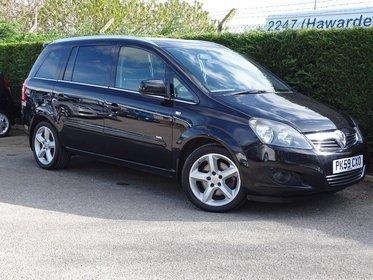 Vauxhall Zafira 1.9CDTI  SRI DPF 150PS
