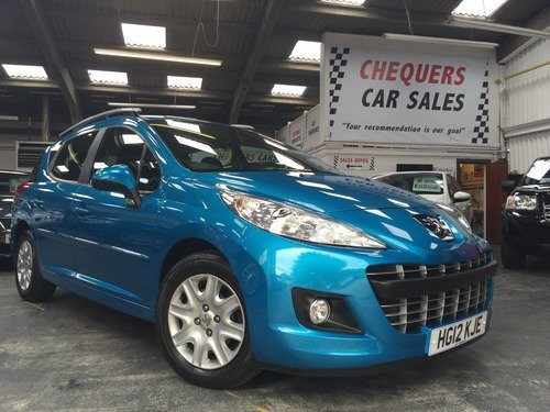 Peugeot 207 1.6 HDI FAP 92 ACTIVE 20 POUNDS PER YEAR TAX