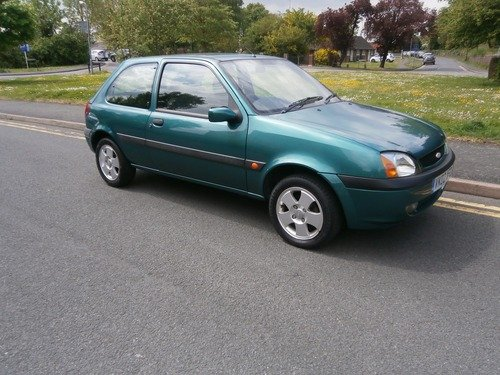 Ford Fiesta 1.25I FREESTYLE 15467 miles