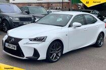 Lexus IS 2.5 F Sport E-CVT (s/s) 4dr
