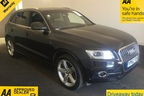 Audi Q5 TDI QUATTRO S LINE PLUS *APPLY FOR INSTANT FINANCE ON OUR WEBSITE*
