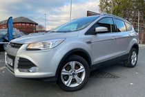 Ford Kuga ZETEC TDCI used car in Silver