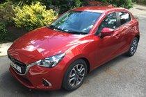 Mazda 2 SPORT NAV FULL MAZDA SERVICE HISTORY BLUETOOTH SAT NAV ONE LADY OWNER