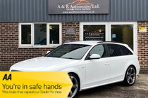 Audi A4 AVANT TDI QUATTRO S LINE BLACK EDITION