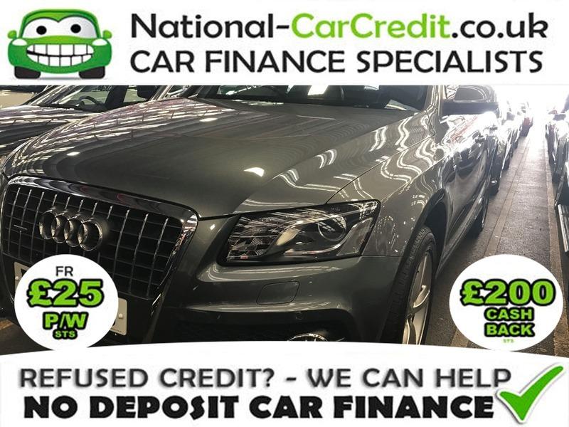 Audi Q TDI S LINE QUATTRO Good Bad Credit Car Finance - Audi car finance