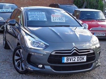 Citroen DS5 2.0 HDI 160 6-SPEED AUTO DSTYLE