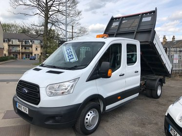 Ford Transit 350 Crew Cab Tipper 125ps