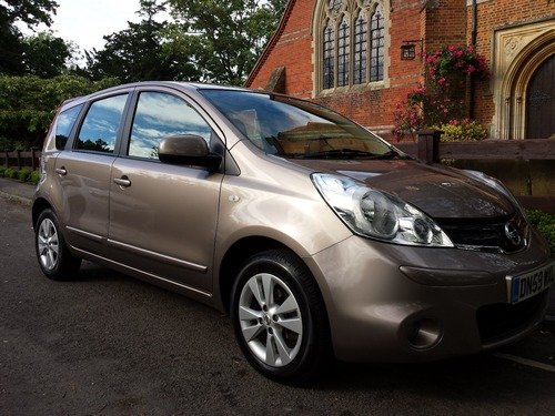 Nissan Note 1.5 DCI 86 ACENTA, A STUNNING AVERAGE MPG OF 65.7 FULL SERVICE HISTORY