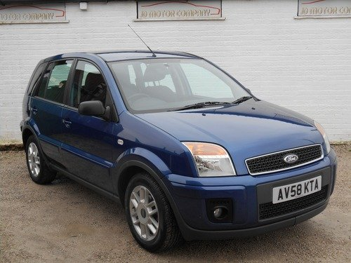 Ford Fusion 1.4 Zetec Climate 5dr FULL HISTORY , 1 FORMER KEEPER