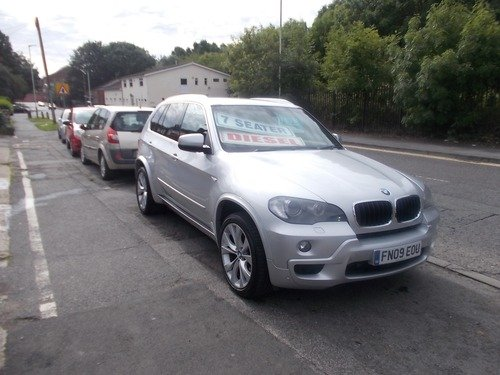 BMW X5 3.0d M SPORT 7 SEATER   VIEW BY APPOINTMENT ONLY