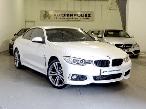 BMW 4 SERIES 2.0 420d XDRIVE M SPORT