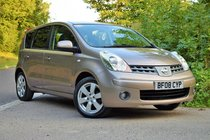 Nissan Note 1.6 TEKNA AUTOMATIC