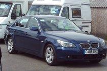BMW 5 SERIES 525d SE SERVICE HISTORY