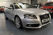 Audi A3 TDI S LINE CONVERTIBLE ONLY 40950 MILES!!