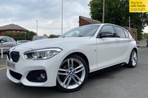 BMW 1 SERIES 118d M SPORT used car in White