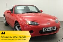 Mazda MX5 I - Fantastic little car.  Eye catching in classic red. Hours of fun to be had!!