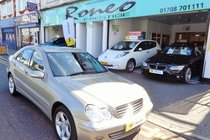 Mercedes C Class C180K AVANTGARDE SE ONLY 47900 MILES!  ULEZ EXEMPT