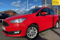 Ford C-Max ZETEC TDCI used car in red