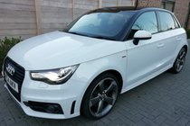 Audi A1 SPORTBACK TDI S LINE BLACK EDITION LEATHER TOMTOM SAT NAV