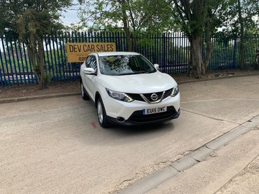 Nissan Qashqai 1.2 DIG-T Acenta Xtronic CVT 5dr