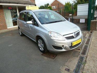 Vauxhall Zafira 1.6I 16V EXCLUSIV