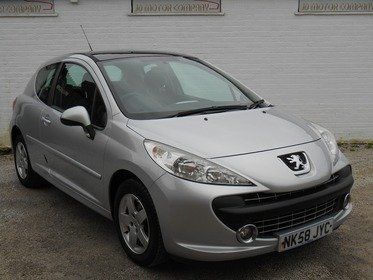 Peugeot 207 1.4 Cielo 3dr 1 FORMER KEEPER , A1 CONDITION