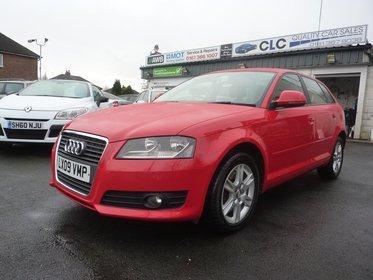Audi A3 2.0 TDI SE SPORTBACK 170PS