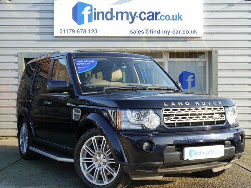 Land Rover Discovery 4 3.0 SDV6 HSE 7 SEATER