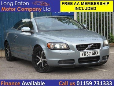 Volvo C70 D5 SE LUX (SAT NAV - HEATED LEATHER - CRUISE CONTROL)