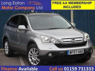Honda CR-V 2.2 I-CTDI EX (SAT NAV - HEATED LEATHER - REVERSE CAMERA)