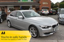 BMW 3 SERIES 320d LUXURY 4DR AUTOMATIC 184 BHP ONLY £30 … SAT NAV + LEATHER + BLUETOOTH LOW MILEAGE PRISTINE CONDITION BEST EXAMPLE