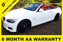 BMW 3 SERIES 320d M SPORT 6 MONTHS AA WARRANTY - 12 MONTH MOT - FULL SERVICE - 12 MONTH AA BREAKDOWN COVER