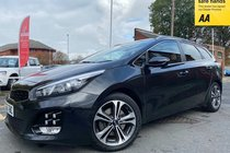 Kia Ceed CRDI GT-LINE ISG used car in metallic black