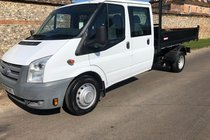 Ford Transit 350 drop side Tipper
