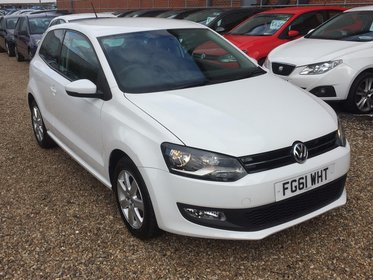 Volkswagen Polo 1.2 TDI MATCH 75PS**2 FORMER KEEPER*2 KEYS*MOT DUE 02/10/2017*FREE 6 MONTHS WARRANTY*FREE 12 MONTHS AA BREAKDOWN COVER*FINANCE A