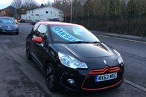 Citroen DS3 E-HDI DSTYLE RED BUY NO DEP & £34 A WEEK T&C