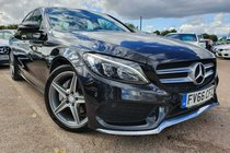 Mercedes C Class C200 D AMG LINE PREMIUM PANORAMIC ROOF 1OWNER