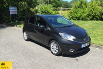 Nissan Note TEKNA DIG-S FULL SERVICE HISTORY BLUETOOTH AIR CON DAB RADIO AUTOMATIC