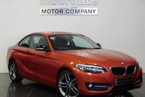 BMW 2 SERIES 218d SPORT