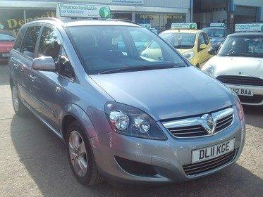 Vauxhall Zafira 1.8I 16V  EXCLUSIV 140PS