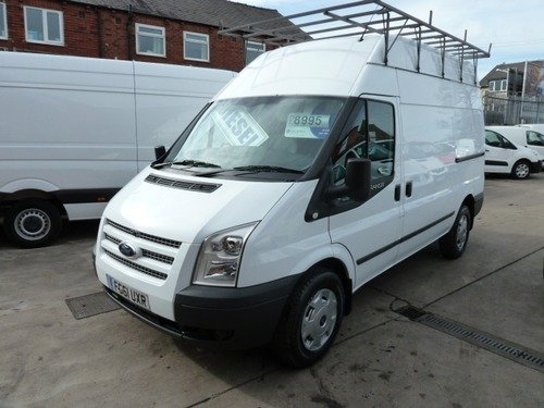 Ford Transit T350 High Roof 2.2 TDCi 155ps NO VAT Euro 5