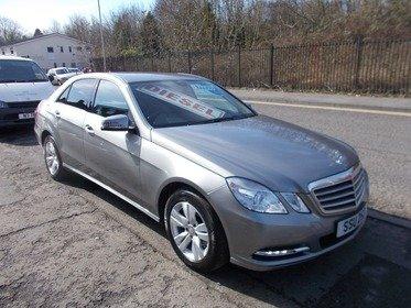 Mercedes E Class 2.1 E 220 CDI BLUEEFFICIENCY SE - BUY NO DEPOSIT £67 A WEEK