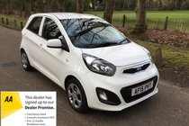 Kia Picanto 1 FULL KIA HISTORY MOT TO MARCH 20 RADIO CD