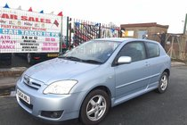Toyota Corolla 1.4 VVT-i T3 3DR 2004 (54) ** 1 LADY OWNER FROM NEW ** WARRANTED LOW 56,411 MILES ** MOT TILL 14/10/2018