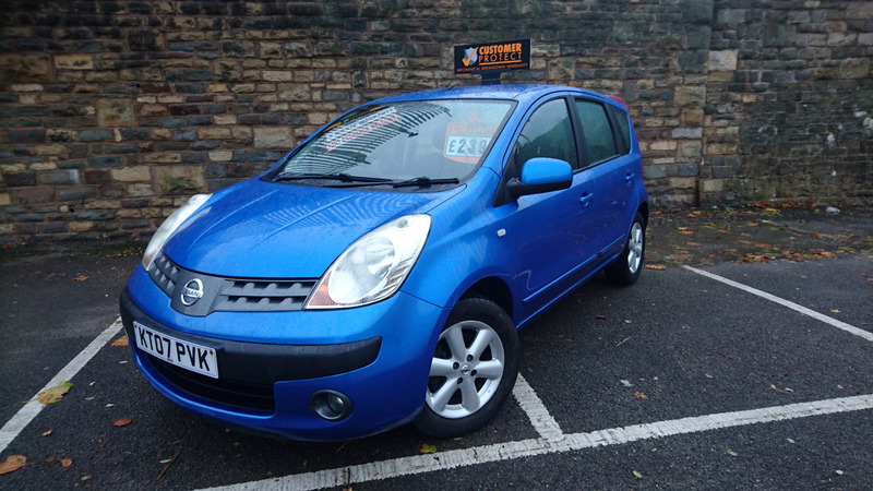 Nissan Note 1.4 16V SE BEAUTIFUL BLUE NISSAN NOTE | Great Western ...