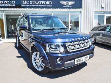 Land Rover Discovery 3.0 SDV6 HSE 7 Seats 4WD Facelift Model Quick And Easy Finance 6.9% APR Representative